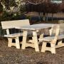 Drevený záhradný nábytok Family