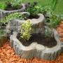 Kvetináč veľký - imitácia dreva