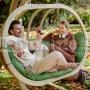 Záhradná závesná hojdačka Kacper zelená