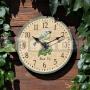 Záhradné hodiny Sýkorka