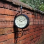 Záhradné nástenné hodiny Victorian Station