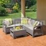 Záhradný rohový set Corfu Relax CS 227845