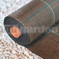 Agrotextílie 100g hnedá 1,65m tkaná