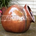Amfora ležatá Hestia Red Copper 50cm