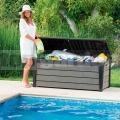Brushwood 455L antracit - zahradní úložný box