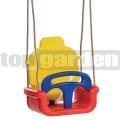Dětská houpačka Klasik červeno-žluto-modrá