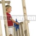 Dětské kormidlo - volant modrý