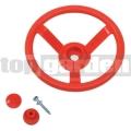 Dětský volant červený