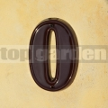 Domovní číslo popisné 0 glazované
