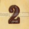 Domovní číslo popisné 2 glazované