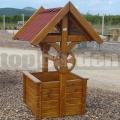Dřevěná studna čtverec 105105