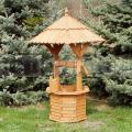 Dřevěná studánka ST3