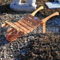 Dřevěný trakař TD1