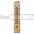 Dřevěný teploměr 26 cm