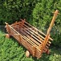 Dřevěný vozík WD2