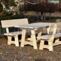 Dřevěný zahradní nábytek Family