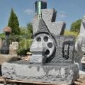 Fontána z kamene Duo 120 cm