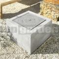 Fontánka Toa Granite grey