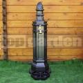 Zahradní vodovodní sloupek ROMA hammer striebro