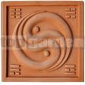Keramický reliéf 13 - Jin Jang