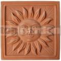 Keramický reliéf 9 - Slunce velké