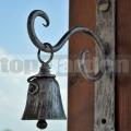 Kovaný zvonek Cing stříbrný