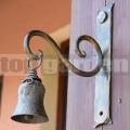 Kovaný zvonek Cing zlatý