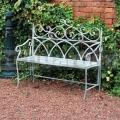 Kovová zahradní lavička FSVG3