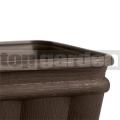 Květináč Balcones 50 cm hnědý