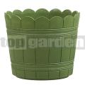 Květináč Country 35 cm zelený 515273