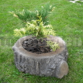 Květináč malý - imitace dřeva