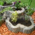 Květináč velký - imitace dřeva