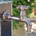 Mosazná zahradní vodovodní baterie Barborka