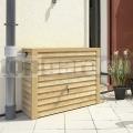 Nádrž s imitací světlého dřeva nástěnná