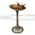 Napáječka pro ptáky Mušle bronz