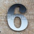 Nerezové popisné číslo 6