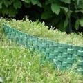 Palisáda rattan zelená 0,8 m