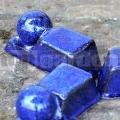 Podložka pod květináč glazovaná Blue