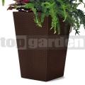 Ratanový květináč - M brown 228975