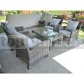 Ratanový nábytek Harmony Grey Quatro