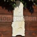 Reliéf Dívka v kosatcích 58a