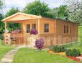 Zahradní chata EVELÍNA s terasou