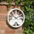 Zahradní hodiny Rosewood cream
