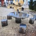 Zahradní sezení Bazalt 110