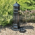 Zahradní vodovodní sloupek PISA černý