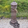Zahradní vodovodní sloupek PISA hammer bronz