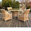 Zahradní jídelní nábytek Luxury