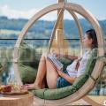 Závěsné křeslo Zosia zelená