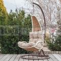 Závěsné ratanové křeslo Luxury