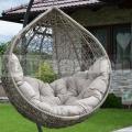 Ratanové závěsné křeslo Relax Antik Grey
